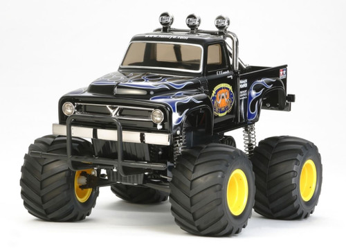 Tamiya 1/12 CW-01 Midnight Pumpkin Black Edition RC Monster Truck Kit 58547