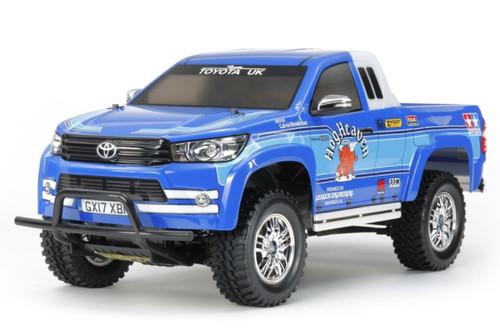 Tamiya 1/10 CC-01 Toyota Hilux Extra Cab RC Truck Kit 58663