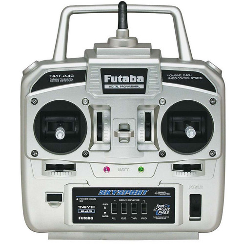 Futaba 4Ch 4YF 2.4GHz FHSS Transmitter With R2004GF Receiver