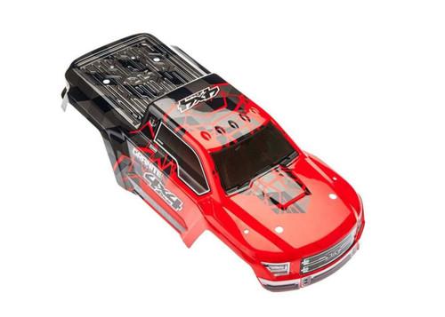 Arrma AR402256 Body Painted / Decal Red Granite Mega 4x4