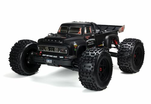 Arrma 1/8 NOTORIOUS 6S BLX 4WD Classic Stunt RC Monster Truck Black 96kph+ ARAD89LL