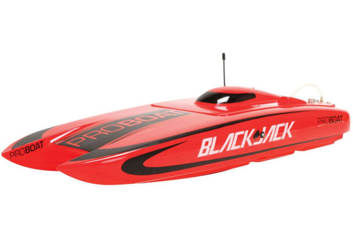 """Pro Boat PRB08007 Blackjack 24"""" Brushless RC Catamaran RTR"""