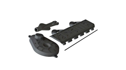 Arrma AR320448 Battery Door, Gear Cover & Shock Tool : Voltage