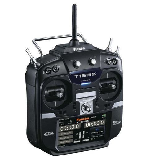 Futaba 16Ch 16SZ 2.4GHz FASSTest Telemetry Transmitter M2 With R7008SB Receiver