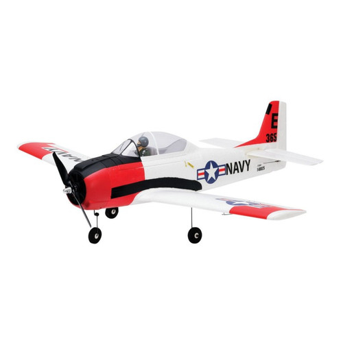 Parkzone PKZ8250 T-28 Trojan 1.1m BNF Basic RC Plane with AS3X and Safe Select