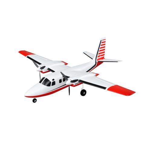 E-Flite EFLU5850 UMX Aero Commander BNF Basic RC Plane with AS3X