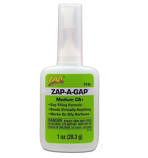ZAP PT02 CA Medium Glue 1 oz. 28.3g