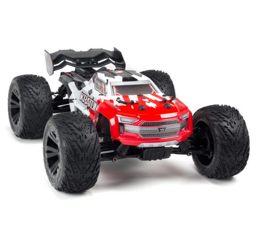 Arrma 1/10 Kraton Monster Truck 4x4 4S BLX 80+km/h RED