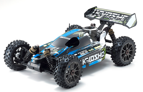 Kyosho 33012 1/8 Inferno Neo 3.0 4WD GP RS RC Car, Blue