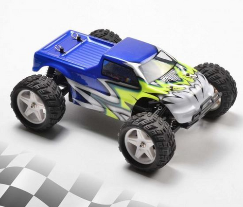 RCPRO 1/18 Monster Truck Replacement Body Shell BLUE