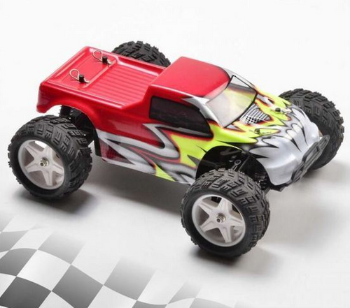 RCPRO 1/18 Monster Truck Replacement Body Shell RED