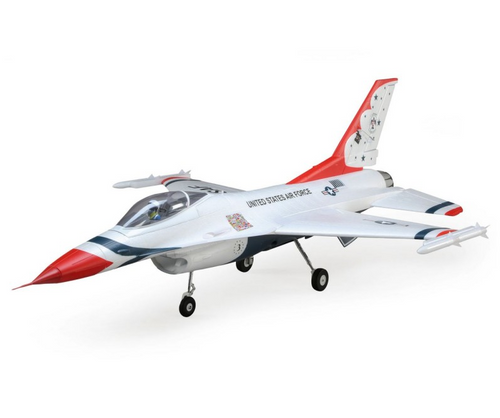 E-flite F-16 Thunderbirds 70mm EDF BNF Basic w/AS3X and SS