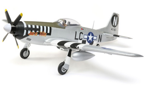 E-Flite P-51D Mustang 1.2m BNF Basic w/AS3X and SAFE