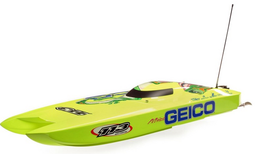 Pro Boat Miss GEICO Zelos 36 Twin Brushless Catamaran 120KmH+!!