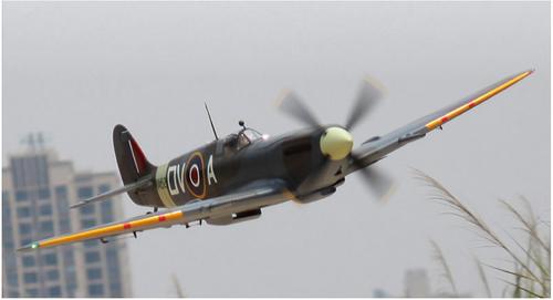 FlightLine - Spitfire Mk.IX 1600mm (63 inch) Wingspan PNP