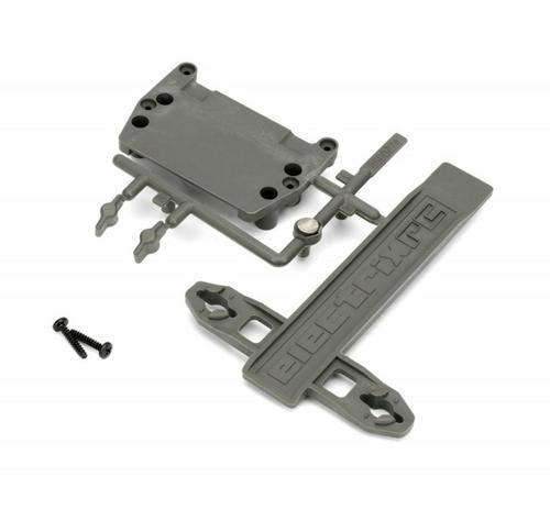 ECX1088 - ECX Battery Strap and ESC Plate 1/10 Stadium