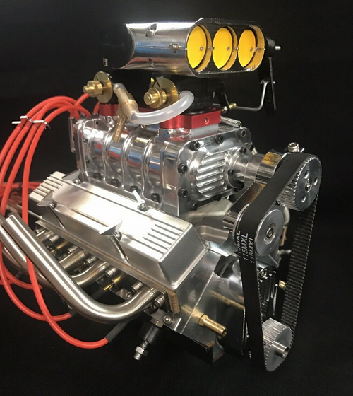 1/4 Scale Supercharged V8 - RTR