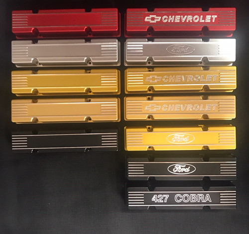 1/4 Scale Annodized Valve Covers