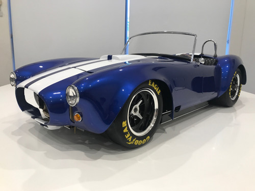 1/4 Scale AC Cobra - Rolling Chassis - Blue/White/Black