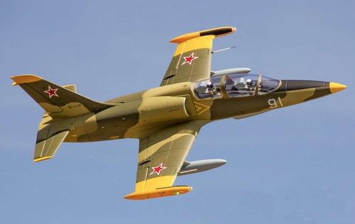 Freewing -  L-39 Albatros Camo 80mm EDF Jet PNP Deluxe