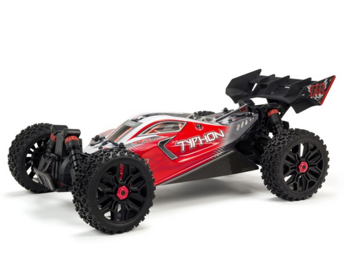 ARRMA -1/8 TYPHON 3S BLX 4WD Brushless Buggy with Spektrum RTR