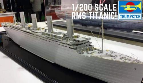 Trumpeter 1/200 Titanic Kit with LED!