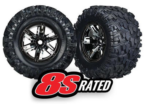 Traxxas X-Maxx Tyres & Wheels, Assembled and Glued