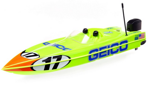 "Pro Boat 17"" Miss GEICO Power Boat Racer RTR"