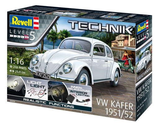 Revell 1/16 VW Käfer 1951/1952 Technik Model