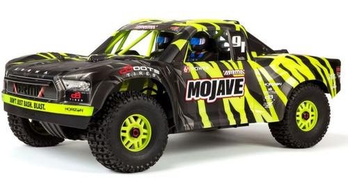 Arrma 1/7 MOJAVE 6S BLX 4WD Desert Racer with Spektrum RTR -Green