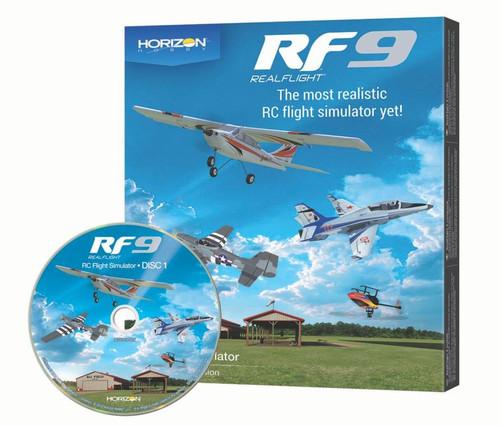 RealFlight 9 Flight Simulator - Horizon Hobby Edition (Software Only)