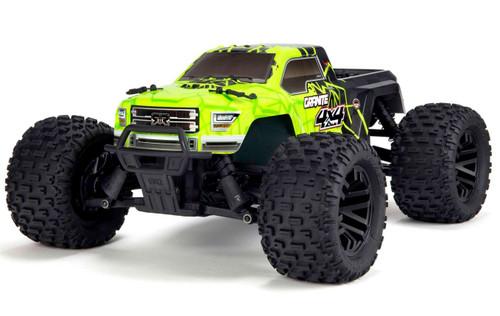 Arrma 1/10 GRANITE MEGA 550 Brushed 4WD Monster Truck RTR -Green/Black