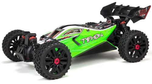 Arrma 1/8 Typhon 4X4 550 Mega Brushed 4WD Buggy Green