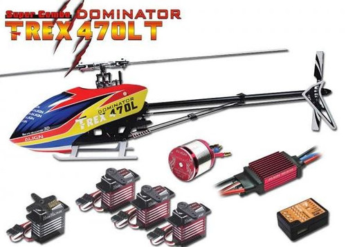 Align T-REX 470LT Super Combo RC Helicopter Kit