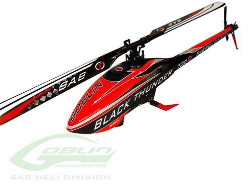 SAB SG716 Goblin Goblin Black Thunder RC Helicopter Kit