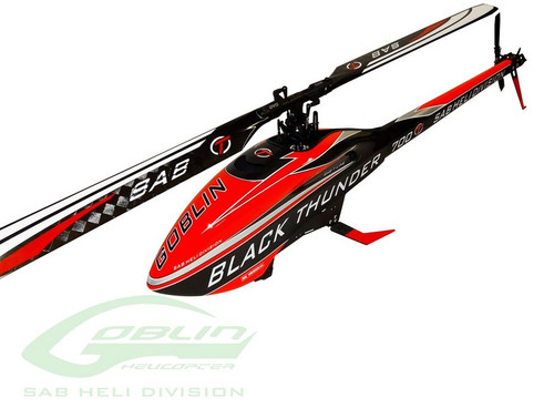SAB SG716 Goblin Goblin Black Thunder RC Helicopter Kit