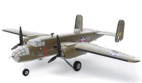 Eflite UMX B-25 Mitchell BNF Basic with AS3X