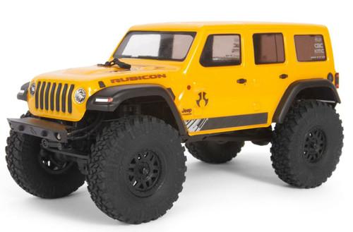 Axial 1/24 SCX24 2019 Jeep Wrangler JLU CRC Rock Crawler 4WD RTR Yellow