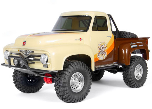 Axial 1/10 SCX10 II 1955 Ford F-100 Truck 4WD RTR Brown