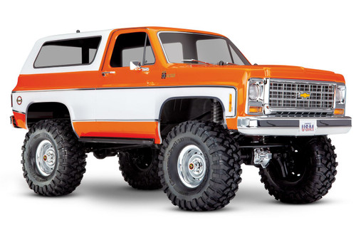 Traxxas 1/10 TRX-4 Chevrolet Blazer Electric Off-Road Rock Crawler Orange