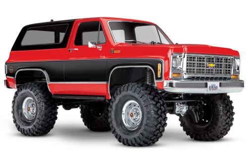 Traxxas 1/10 TRX-4 Chevrolet Blazer Electric Off-Road Rock Crawler Red