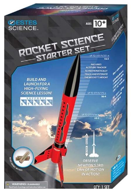 Estes Flying Model Rocket Launch Set Rocket Science with Motors