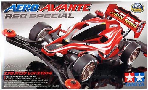Tamiya 95038 Aero Avante Clear Red Mini 4WD