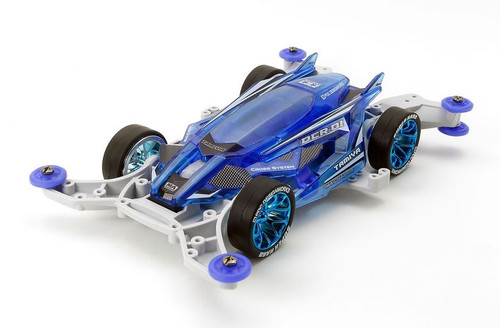 Tamiya 95500 Jr Dcr-01 Clear Blue Special Mini 4WD Kit