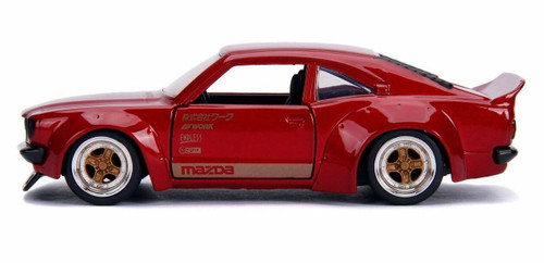 Jada 30488 1/32 1974 Mazda RX-3 Gloss Red