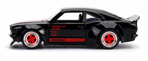 Jada 30488 1/32 1974 Mazda RX-3 Gloss Black