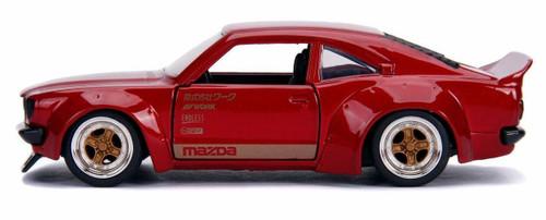 Jada 30718 1/24 JDM 1973 MAZDA RX3 GLOSS RED