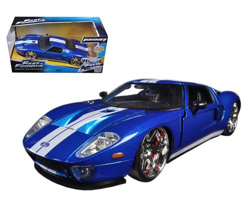 "Jada 97177 1/24 Ford GT ""Fast & Furious"" Movie Blue"