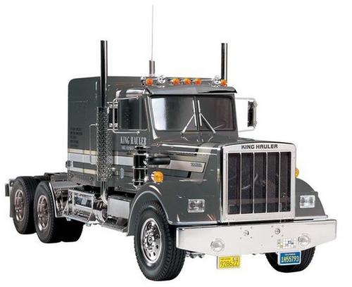 Tamiya 56336 1/14 RC King Hauler Black Edition RC Truck Kit