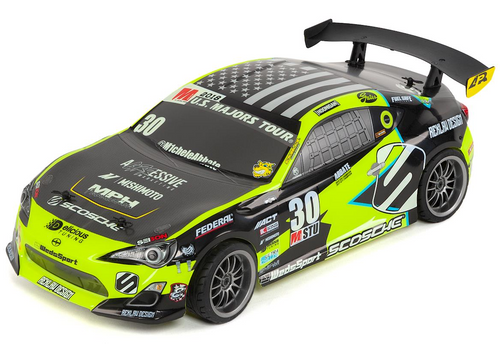 HPI Racing 1/10 E10 Michele Abbate Grrracing Touring Car RTR